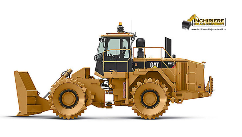 Inchiriere utilaj Compactor Caterpilar 816F